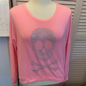 💕Bling skull sweater💕